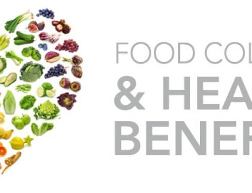 Food colours & health benefits