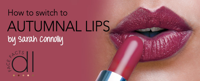 How to switch to autumnal lips