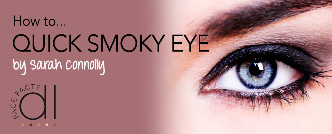 How to... quick smoky eye