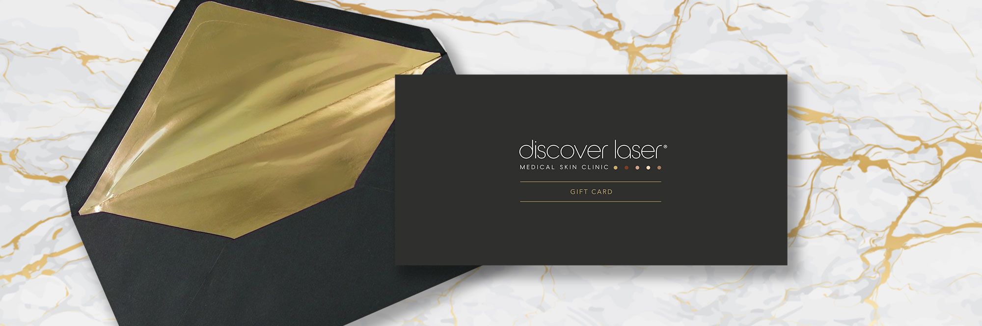 Discover Laser Gift Card and Envelope